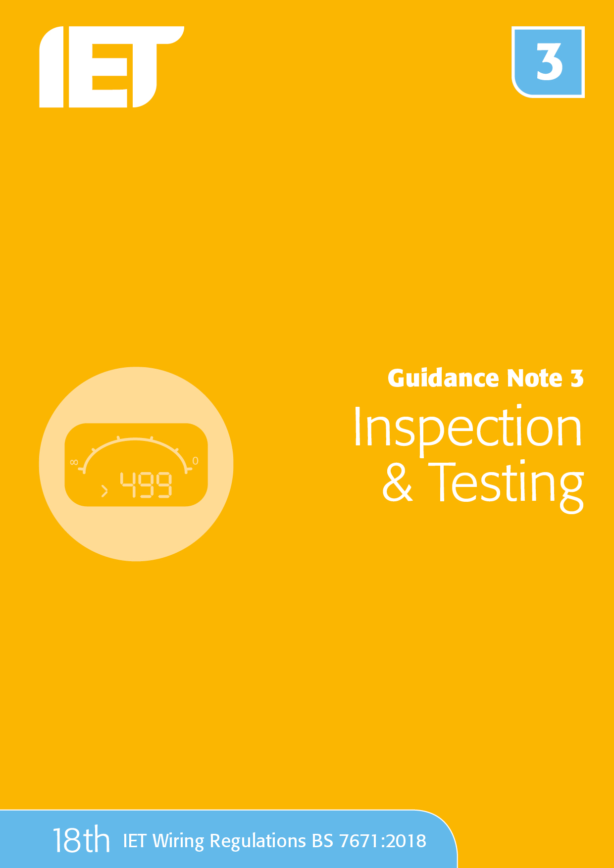 Guidance Note 3: Inspection & Testing, 8th Edition