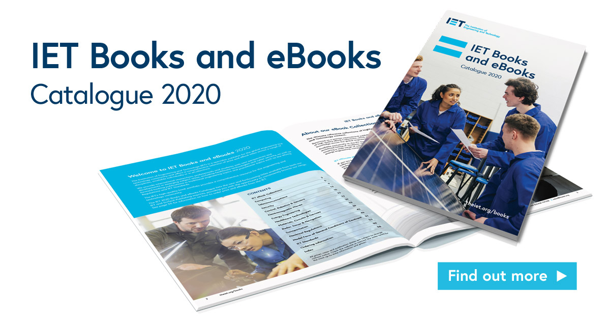 IET Books and e-Books catalogue 2020