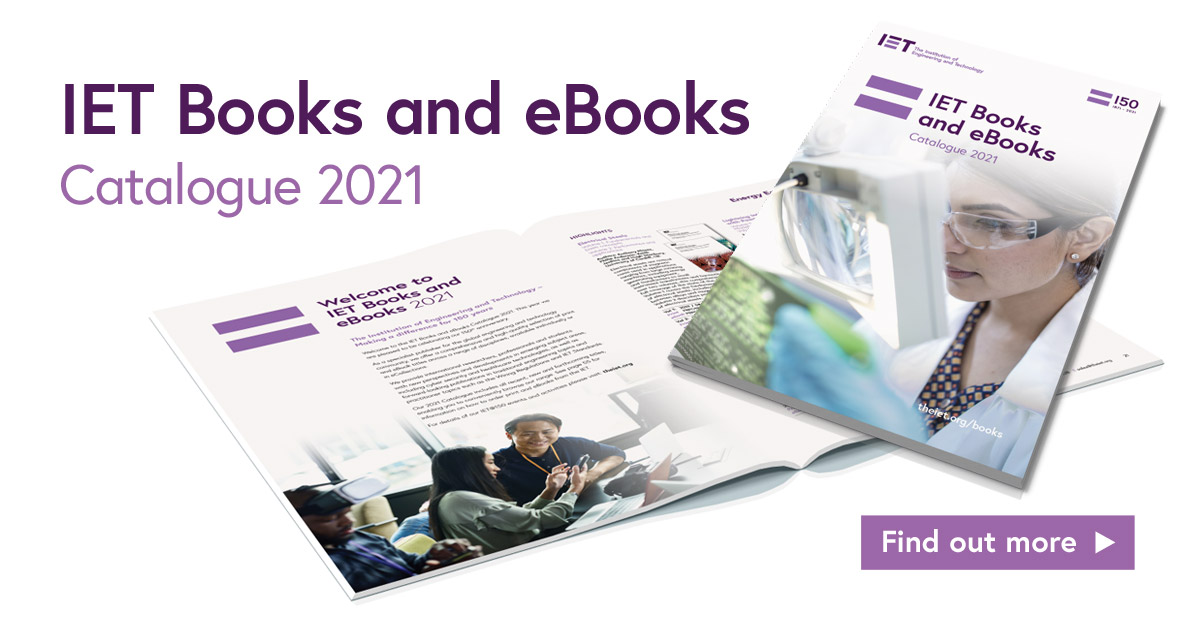 IET Books catalogue 2021